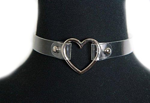 Yonger Vintage Cosplay Necklace Transparent