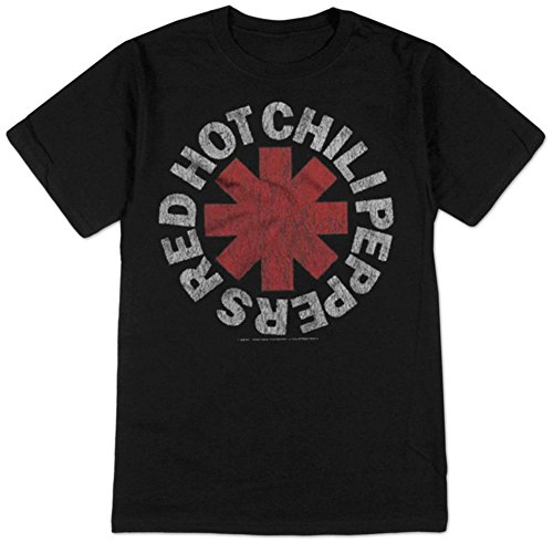 - Bravado Red Hot Chili Peppers- Vintage Distressed Logo T-Shirt Size L
