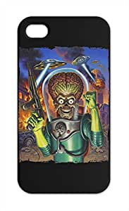 Mars Attacks poster final Iphone 5-5s plastic case