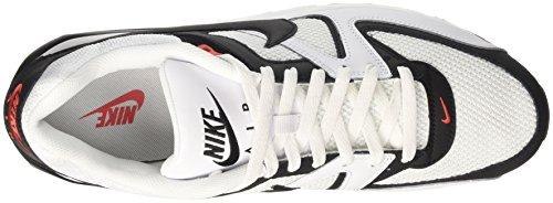 Nike Herren Air Max Command Sneaker Weiß (bianco / Nero-max Arancione)
