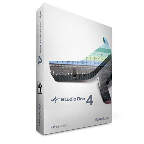 PreSonus Audio Electronics Multitrack Recording Software (Studio One 4 Artist/Boxed) by PreSonus Audio Electronics