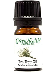 GreenHealth - 5 ml Tea Tree Essential Oil - 100% Pure