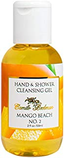 product image for Camille Beckman Hand and Shower Cleansing Gel, Mango Beach No. 2, 2 Ounce