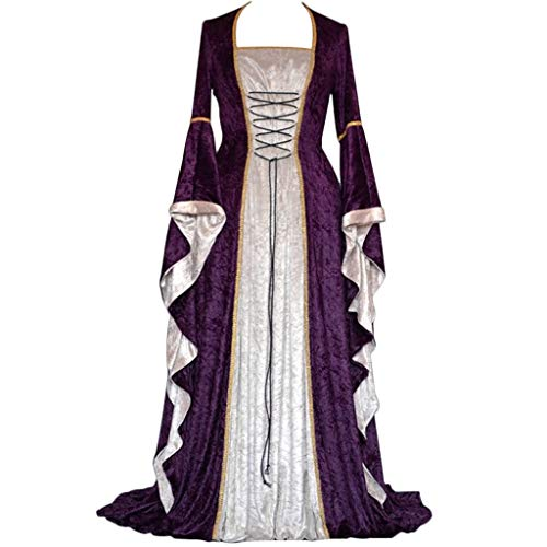 Clearance Renaissance Dress,Forthery Womens Medieval Costume Dress