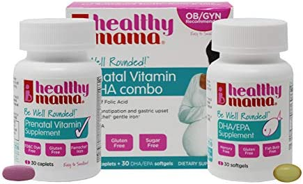 Healthy Mama Rounded Prenatal Vitamin product image