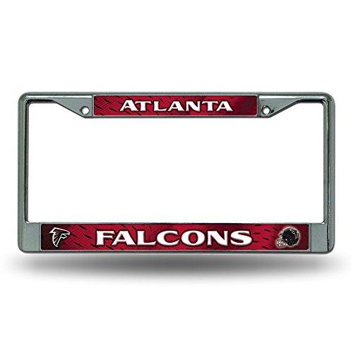 Rico Atlanta Falcons NFL Chrome Metal License Plate Frame by Rico
