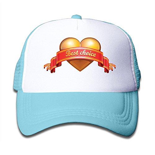 evaly-youth-golden-heart-valentine-mesh-fishing-visor-cap