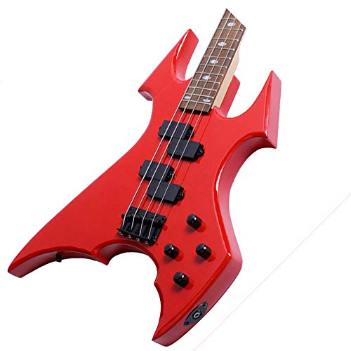 Style Electric Series Mahogany Neck - DongjiCOM DR Series Electric Guitar - Polished red, Shaped bass, Punk Rock Style