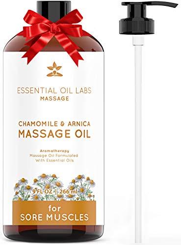 - Chamomile + Arnica Massage Oil