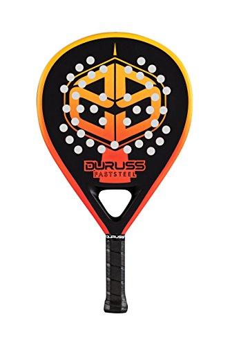 Duruss Fast Steel Pala de Padel, Unisex Adulto, Orange/Black ...