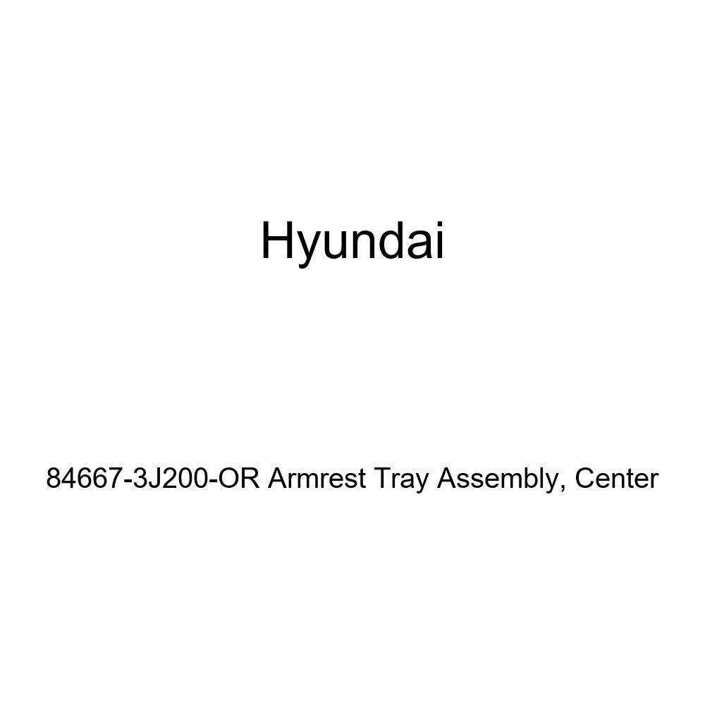 Center Genuine Hyundai 84667-3J200-OR Armrest Tray Assembly
