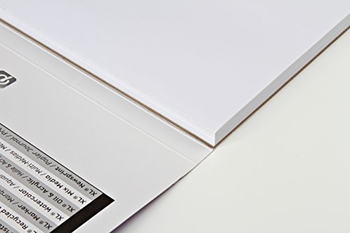 Canson XL Series Marker Paper Pad, Semi Translucent for Pen, Pencil or Marker, Fold Over, 18 Pound, 9 x 12 Inch, White, 100 Sheets (400023336)