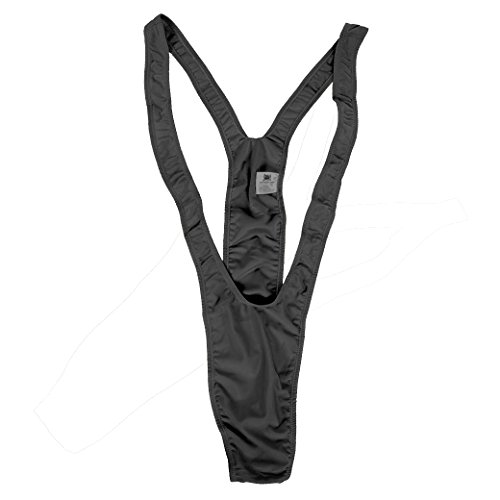 Borat Costume Mankini Adult: Black One Size Fits Most