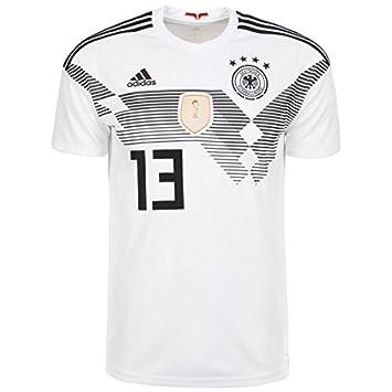 Adidas DFB doméstica de Camiseta Müller WM 2018 Camiseta de fútbol, Hombre, BR7843_4_Müller,
