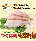 【鶏肉】国産つくば鶏 むね肉 2kg(2kg1パックでの発送)蒸したり、サラダ、から揚げ/唐揚げに この鶏肉は筑波山麓のふもとですくすくと育った鶏です【鳥肉】【茨城県産】【銘柄鶏肉】