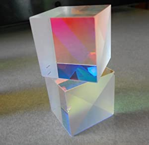 Color Combining Dichroic Beam Splitter Glass Cube 27 X