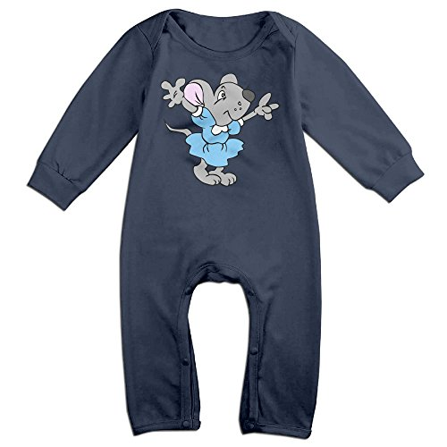 [VanillaBubble Mouse Dance For 6-24 Months Toddler Cool Baby Climbing Clothes Navy Size 18 Months] (Infant Sylvester Costumes)
