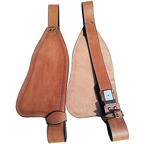 Great American Leather Youth Child Saddle Replacement Fender Pair Hobble -