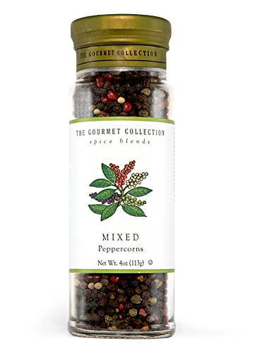 (The Gourmet Collection Mixed Peppercorns 113 grams Glass Jar - Single Pack)