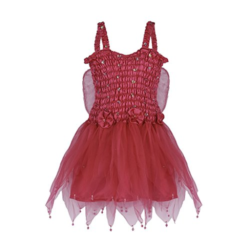 [Shu-Shi Fairy Sparkly Costume Princess Dress Up Girls Kids Toddlers With Wings] (The Little Prince Costume Ideas)