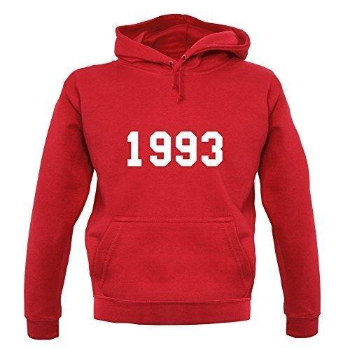 1993 Estilo Universitario - Sudadera Capucha Unisex / Sudadera Con Capucha 22nd Regalo Cumpleaños / Regalo - 9 Colores - Rojo, Medium: Amazon.es: Ropa y ...