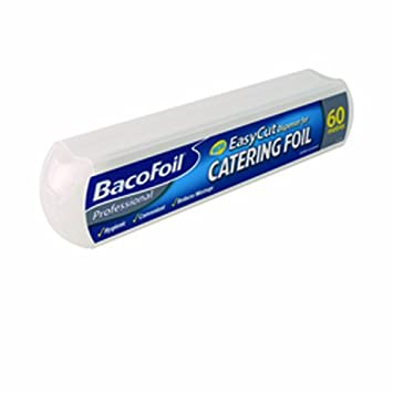Bacofoil Catering dispensador de papel de aluminio 300 mm x 60 m (Pack de 1): Amazon.es: Oficina y papelería