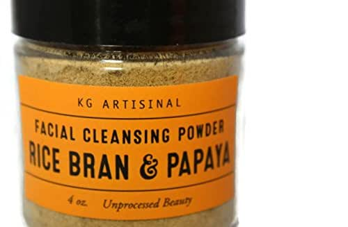 Amazon.com: Rice Bran & Papaya Facial Cleansing Powder