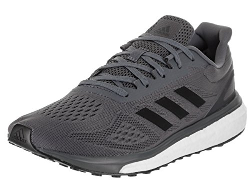 Adidas Men Response Boost LT Running Shoe Onyx/Black/White
