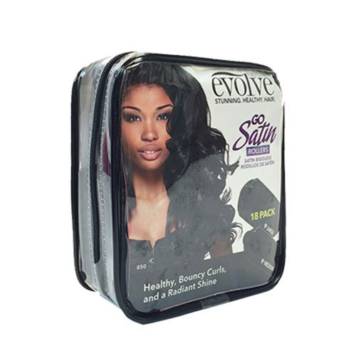 Evolve Satin Covered Rollers 18 Piece