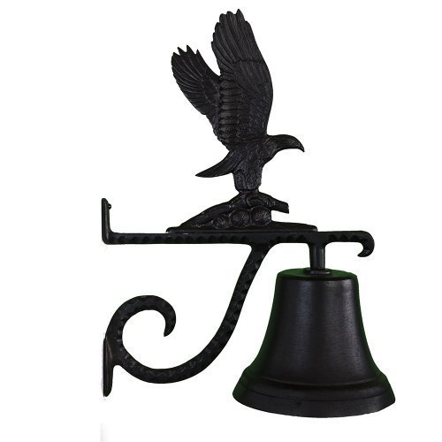 Montague Metal Products Cast Bell with Black Eagle by Montague Metal Products