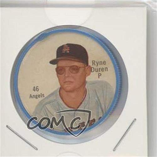 Ryne Duren Ungraded COMC Good to VG-EX (Baseball Card) 1962 Salada Tea/Junket Desserts All Star Coins - [Base] #46