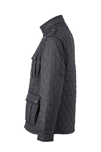 Steppjacke black James Uomo Diamond Nicholson Mens amp; Nero Giacca Jacket Quilted 7rxvT7q