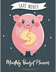 Monthly Budget Planner: Weekly & Monthly Expense Tracker Organizer,Budget Planner and Financial Planner Workbook ( Bill Tracker,Expense Tracker,Home Budget book / Extra Large ) Pig Cover