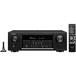 Denon AVR-S720W 7.2 Channel Full 4K Ultra HD AV Receiver with Built-In Wi-Fi and Bluetooth
