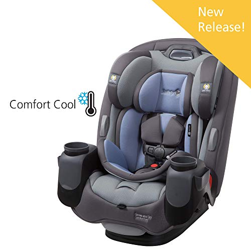 Safety 1st Grow and Go Comfort Cool 3-in-1 Convertible Car Seat, Tide Pool (Best Value Convertible Car Seat)