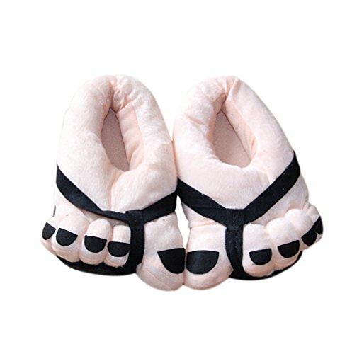 1 Chaussons hiver Anti Pantoufles Bricolage Dérapant Doux Homme Chauds Noir Femmes Automne Coton orteils 5 41 Demarkt pour Pantoufles verges Noir et et Paire Convient et Beige D'intérieur de 35 Couple EO8cWWdza