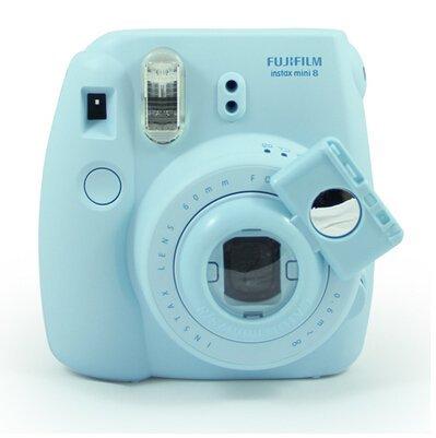 Price comparison product image Gvirtue SelfieLens [Fujifilm Instax Mini Selfie Lens] Instax Close Up Lens with Self-portrait Mirror For Fujifilm Instax Mini 8 mini 7s Camera & Polaroid 300 Camera Style (Blue)