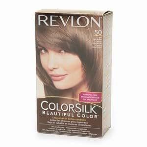 Revlon Colorsilk Beautiful Color, Light Ash Brown # 50, 1 Application