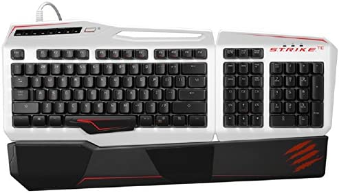 TE Mechanical Gaming Keyboard White MCB43113N001//04//1 Mad Catz S.T.R.I.K.E