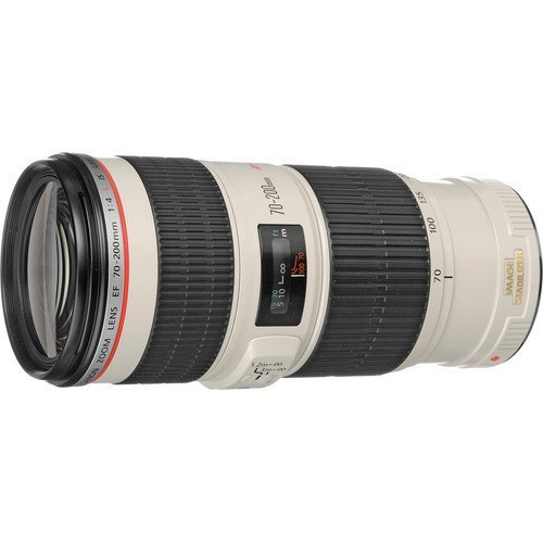 Canon EF 70-200mm f/4 L IS USM Lens for Canon Digital SLR Cameras International Version (No warranty) by Canon