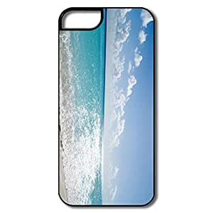 IPhone 5/5S Case, Tropical Beach White/black Cases For IPhone 5