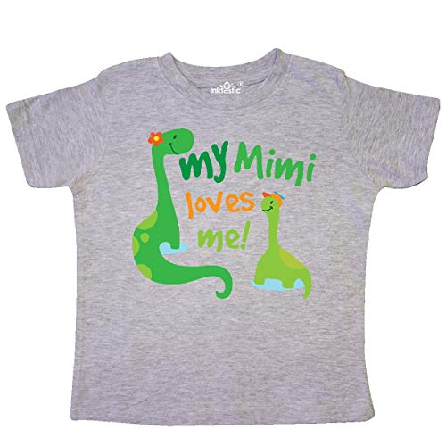 inktastic - My Mimi Loves Me Grandson Gift Toddler T-Shirt 205ae