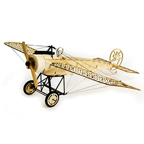 LaDicha Dancing Wings Hobby Fokker-E 410Mm Spannweite Balsa Wood Flugzeug Statisches Modell Unmontiert