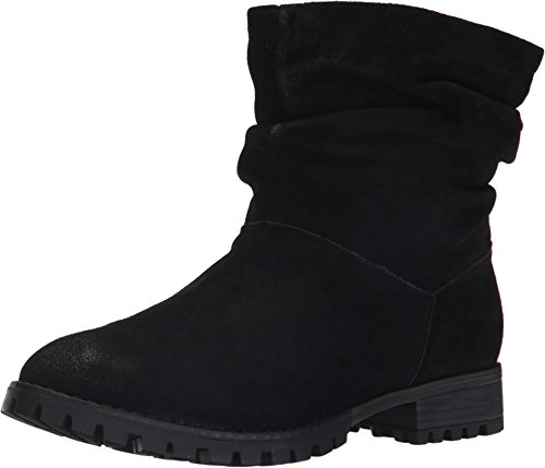 Chinese Laundry Women's Flip Boot, Black Suede, 10 M US
