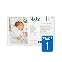 Naty Size 1 Carry 26 per pack - Pack of 4