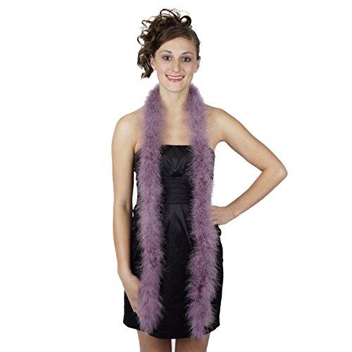 Zucker Feather Products Medium Weight Marabou Boa, Amethyst - Boa Weight Bag
