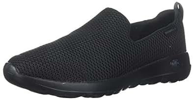 Skechers Australia GO Walk Joy Women's Walking Shoe, Black/Black, 5 US