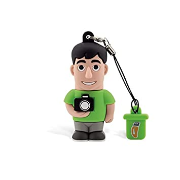 Professional USB fotógrafo, simpatiche Memorias USB Flash Drive 2.0 Memory Stick Almacenamiento de Datos, llavero, Pendrive 8 GB