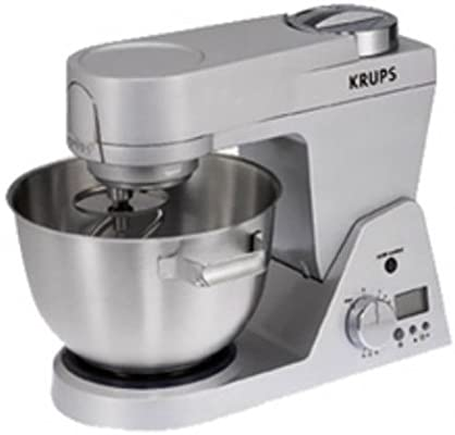 Krups KA950, Plata, Acero inoxidable, Metal - Robot de cocina: Amazon.es: Hogar