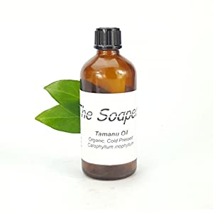 Tamanu Oil 100ml – Cold Pressed Certified Or...
